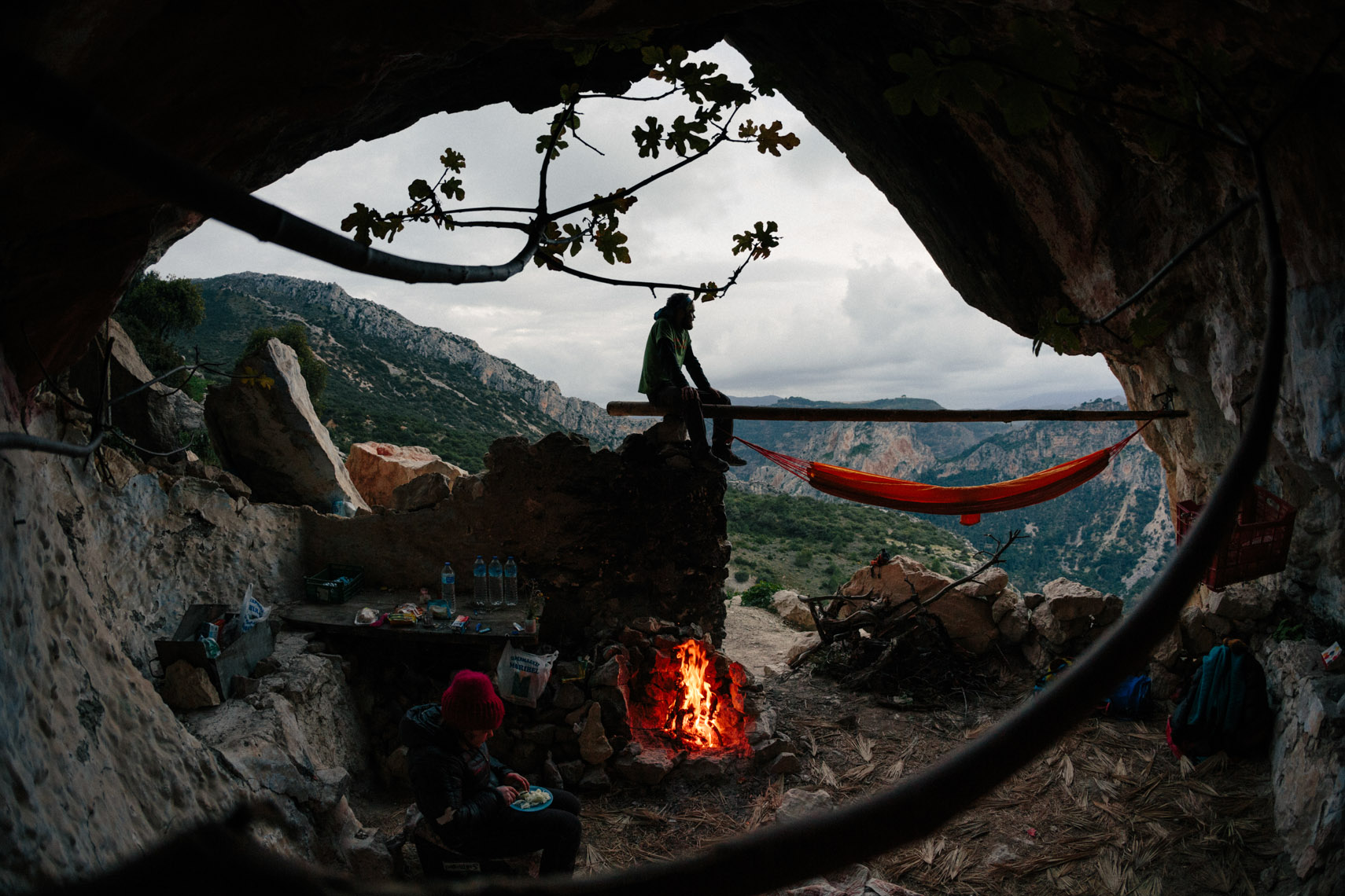 Adventure and outdoor lifestyle photogaph by Forest Woodward in El Choro Spain