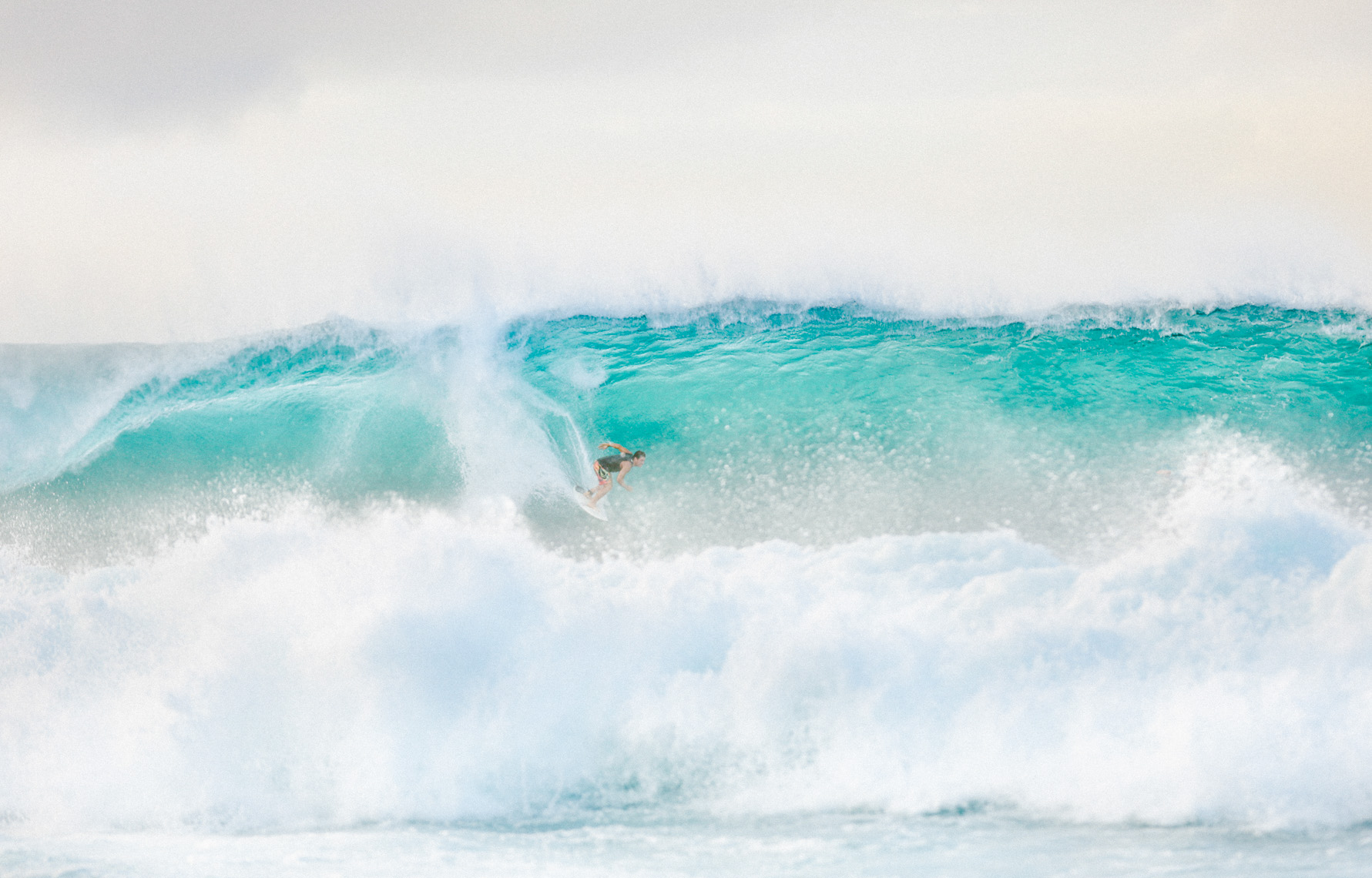 Adventure and outdoor lifestyle photogaph by Forest Woodward Surfer at Pipeline North Shore Oahu