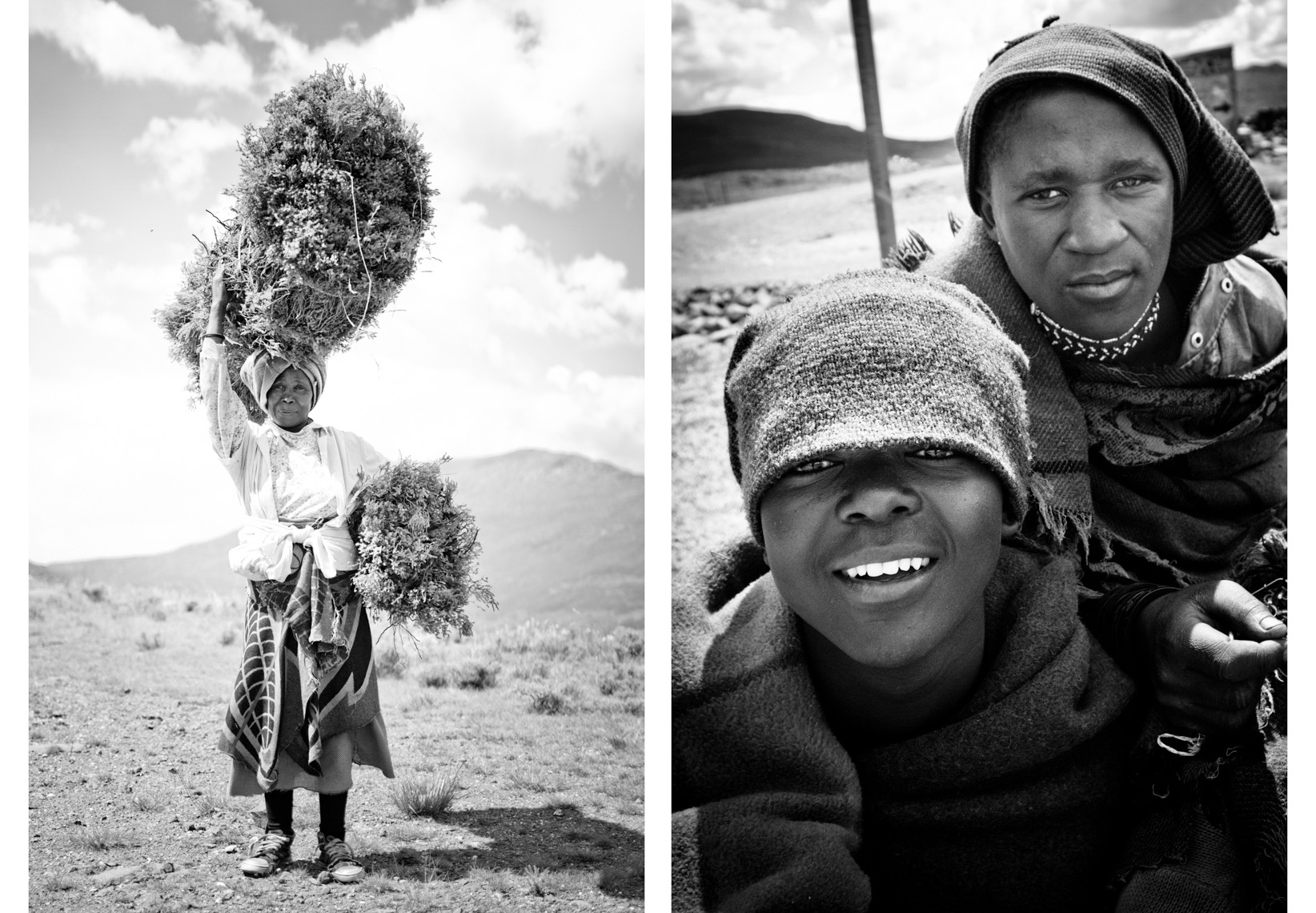 Travel photography by Forest Woodward in Lesotho the Kindom surrounded by South Africa