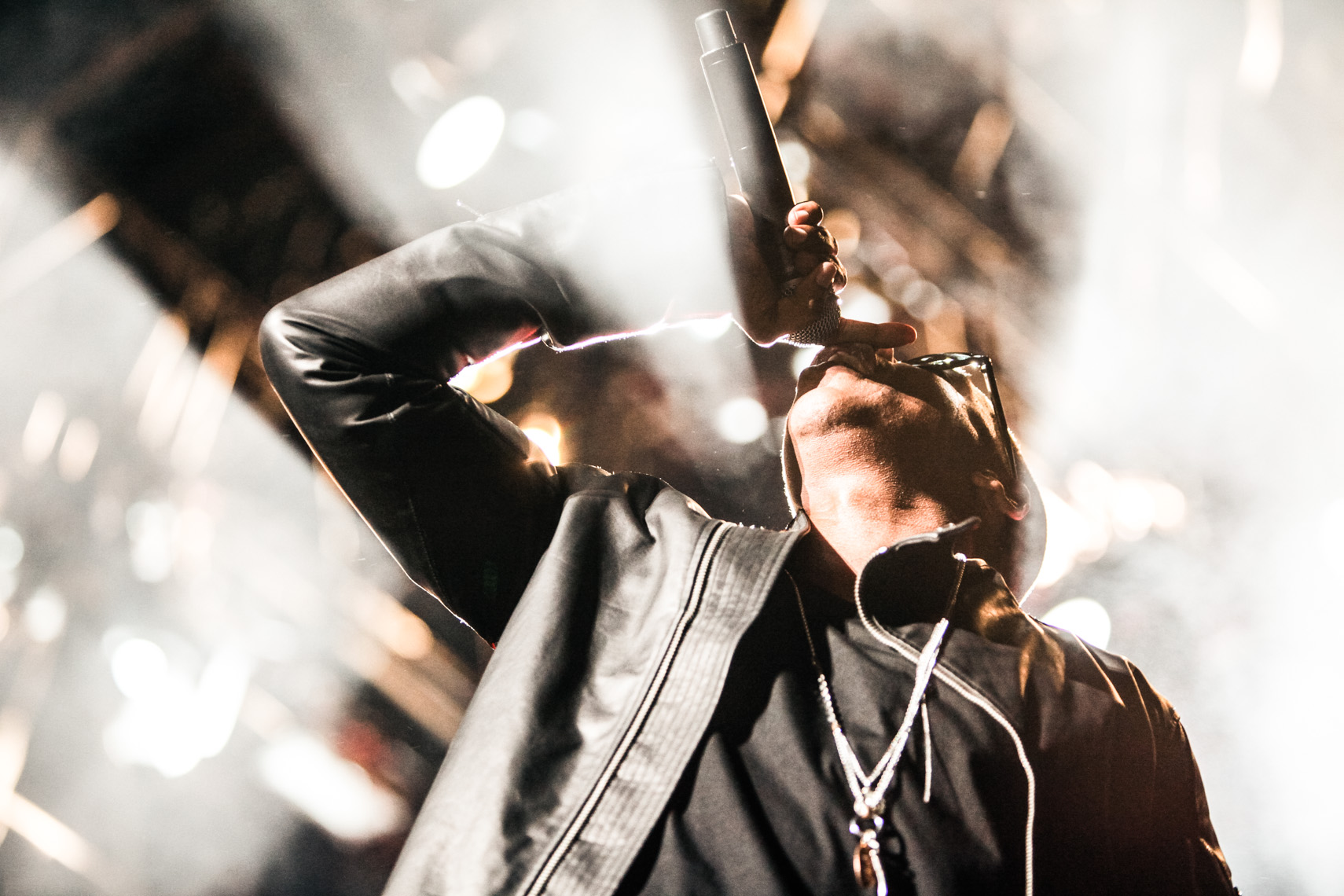 Jay Z at Coachella Music Festival photographed by Forest Woodward