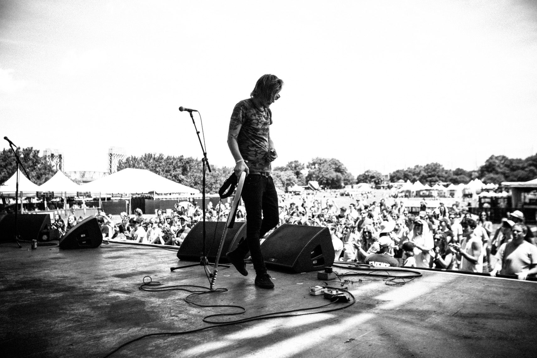 Turf Wars photographed by Forest Woodward at Governors Ball music festival